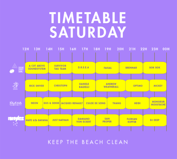 timetable-saturday